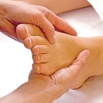 massaging your feet will help reduce heel pains after running