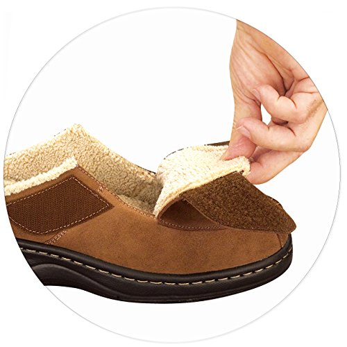 These Mens Slippers With Arch Support Also Have Some Adjustable U201cspacersu201d  Which You Can Add Or Remove To Help Get The Perfect Support For Your Foot  Inside.