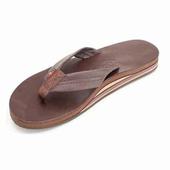 Rainbow Sandals Double Layer