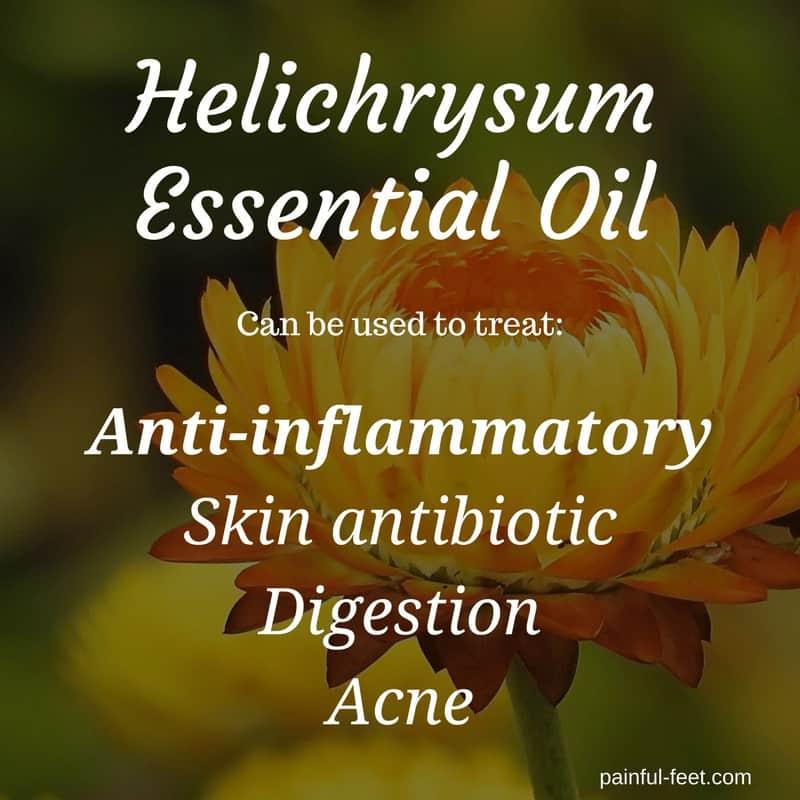 helichrysum essential oil plantar fasciitis