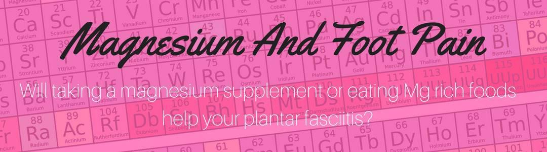 is magnesium good for heel pain header image