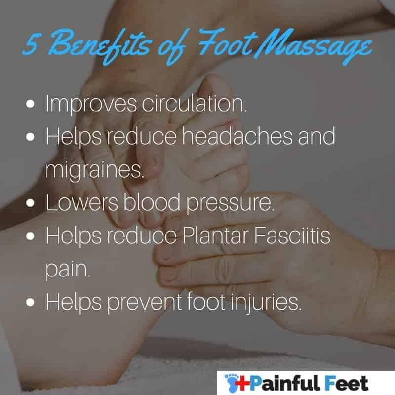 list of benefits of foot massage