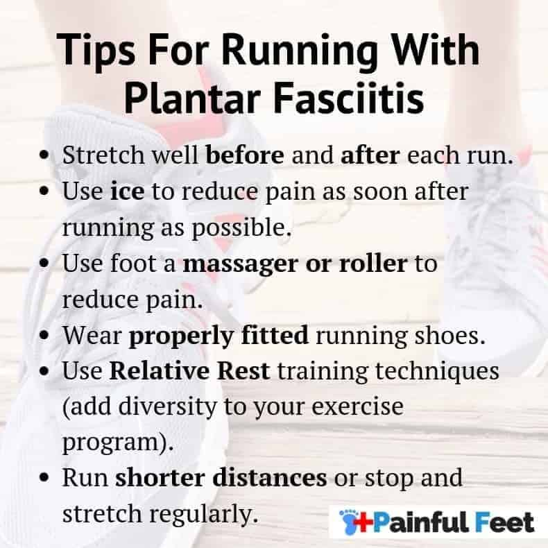 tips for running with plantar fasciitis