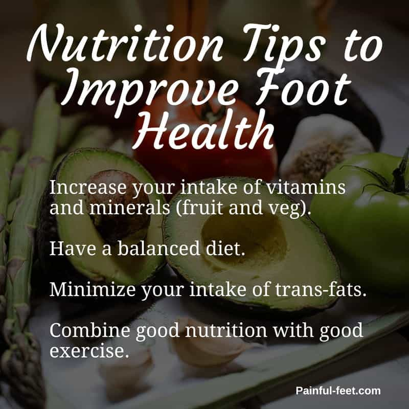 foot food nutrition tips